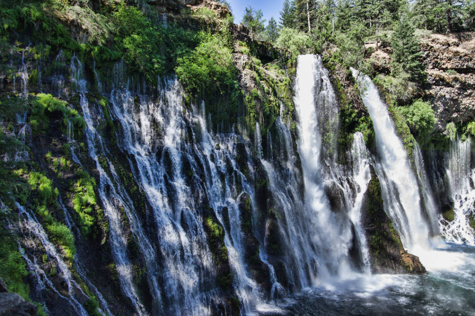 Best time for Burney Falls in California