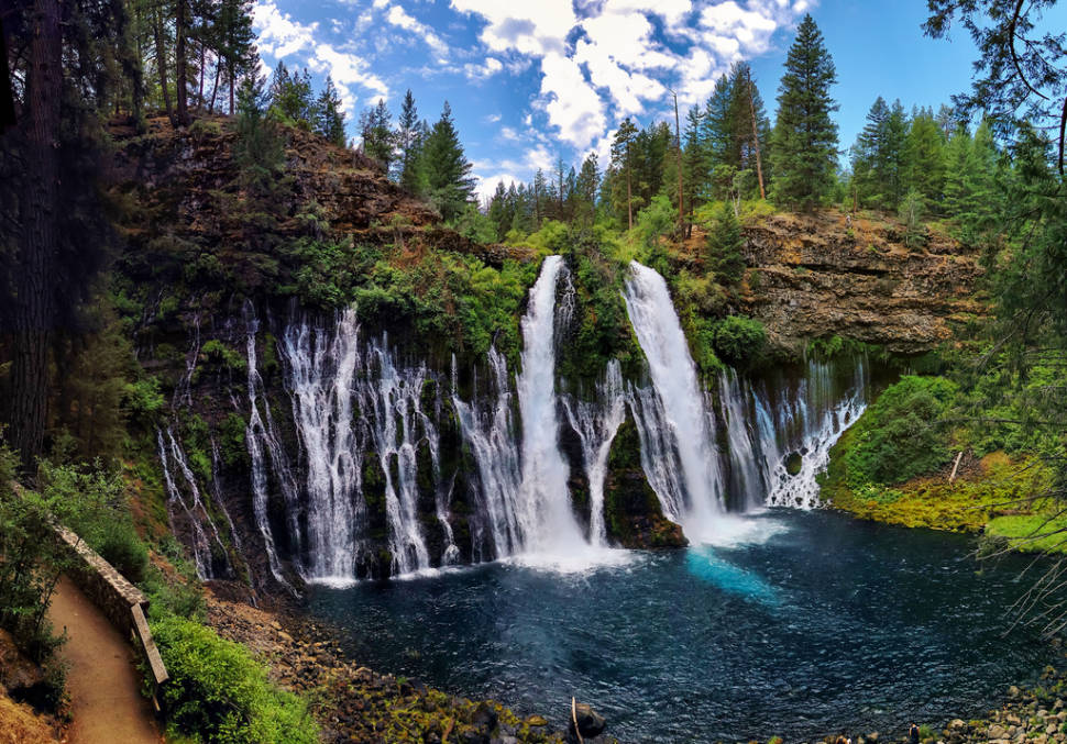 Burney Falls in California - Best Time