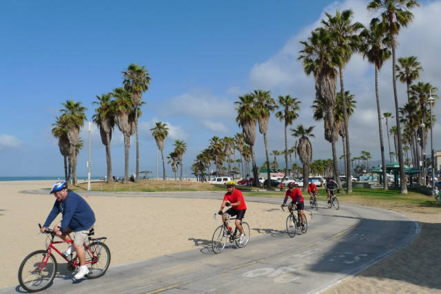 Cycling the Venice Beach Trail