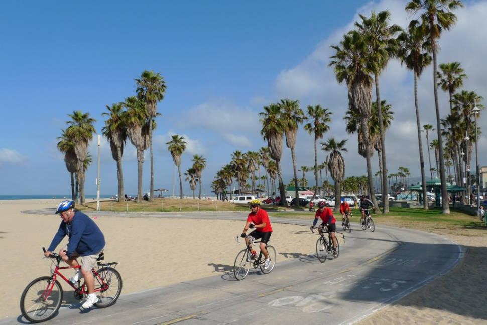 Cycling the Venice Beach Trail