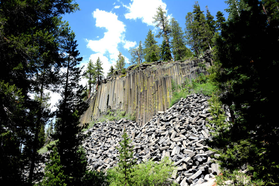 Best time to see Devils Postpile National Monument in California