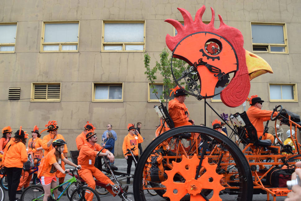 Best time to see Kinetic Grand Championship in California