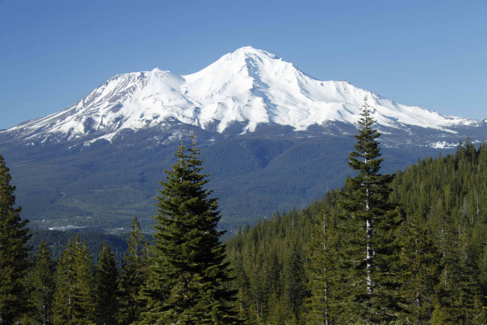 Shasta from the southwest