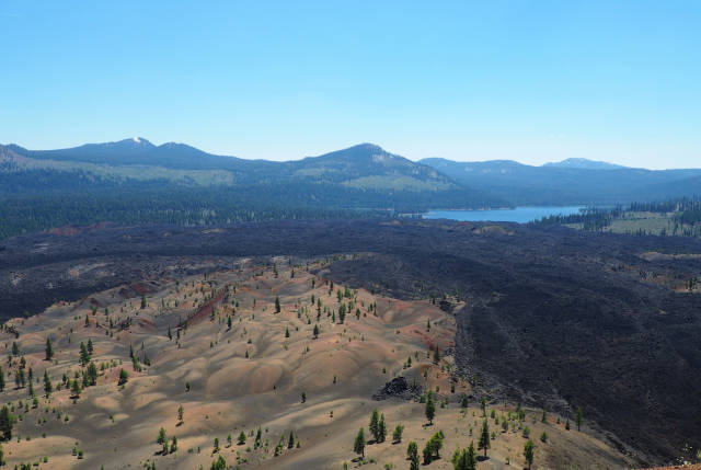 Best time to see Painted Dunes in Lassen Volcanic National Park in California