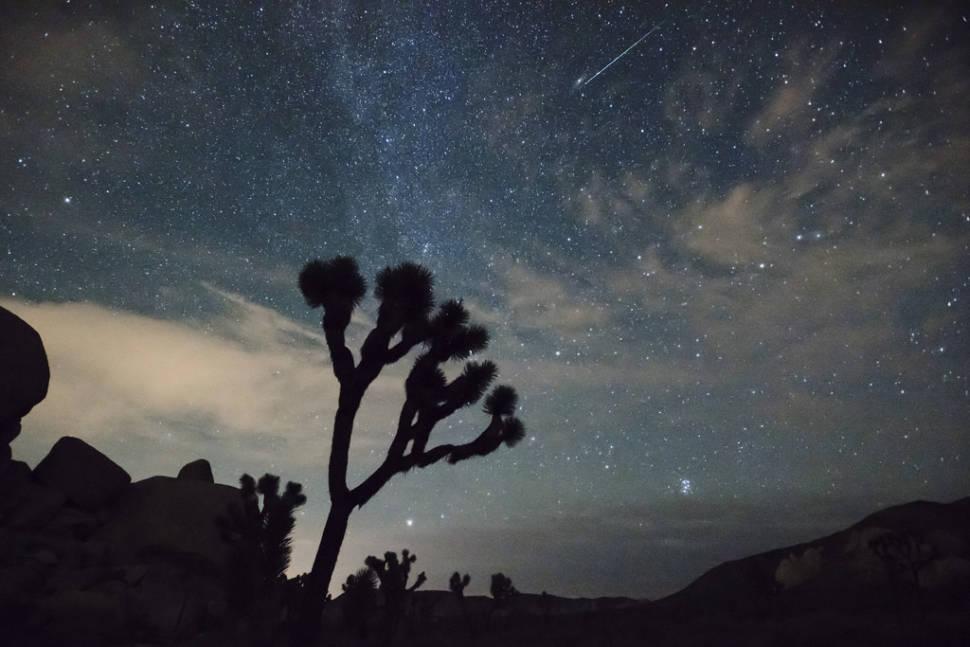 Perseid Meteor Shower in California - Best Season