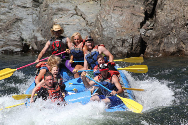 Rafting in California - Best Time