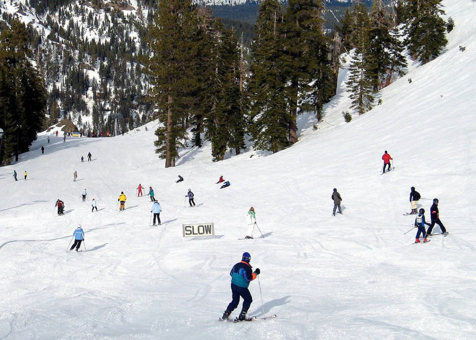 Skiing at Lake Tahoe in California - Best Season