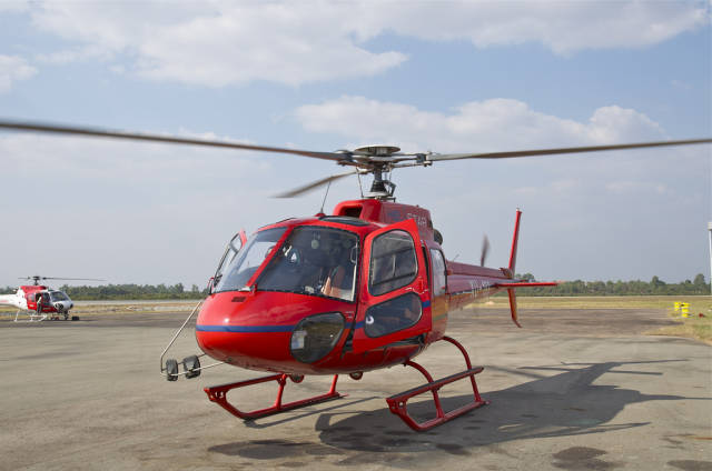 A Helicopter Flight above Angkor Wat in Cambodia - Best Time
