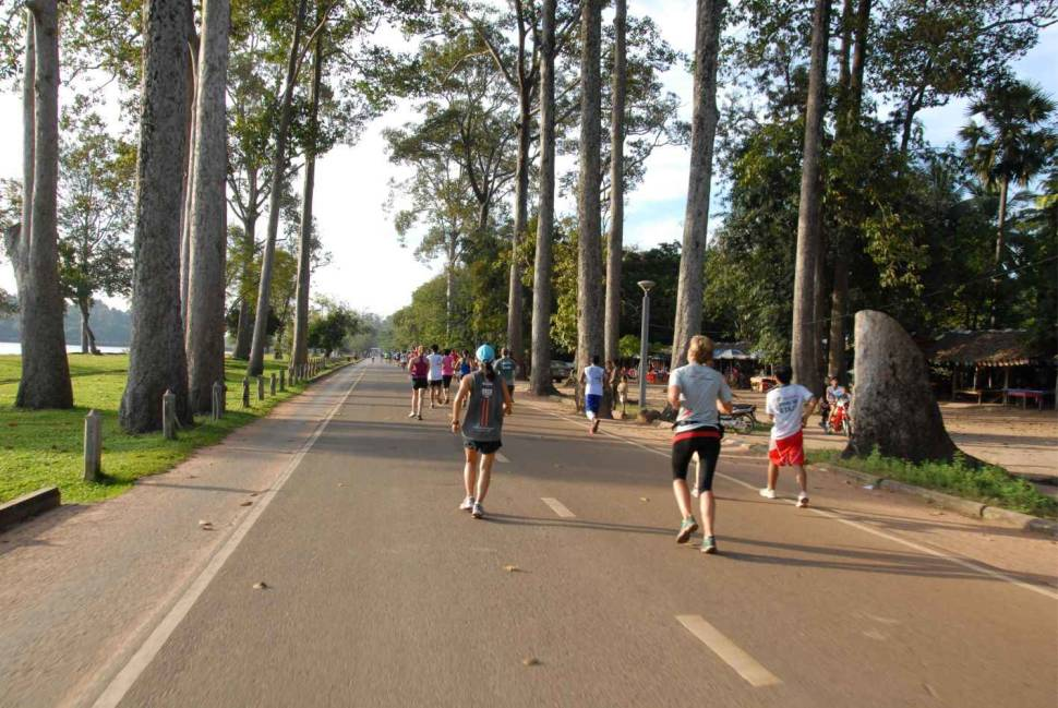 Angkor Wat International Half Marathon in Cambodia - Best Season