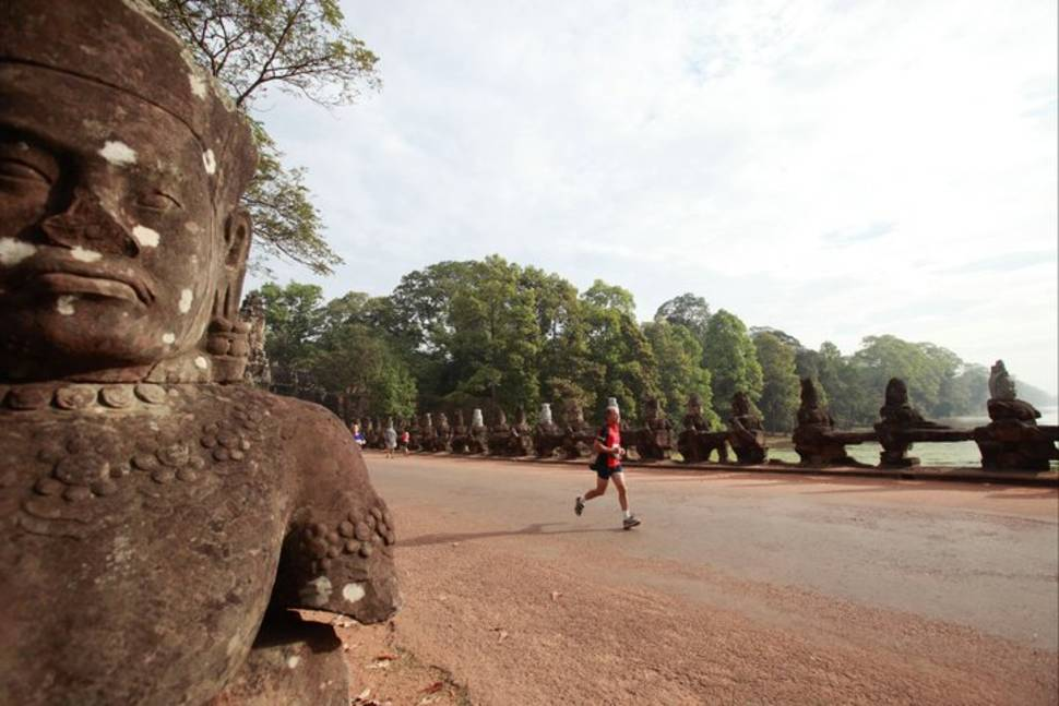 Best time for Angkor Wat International Half Marathon in Cambodia