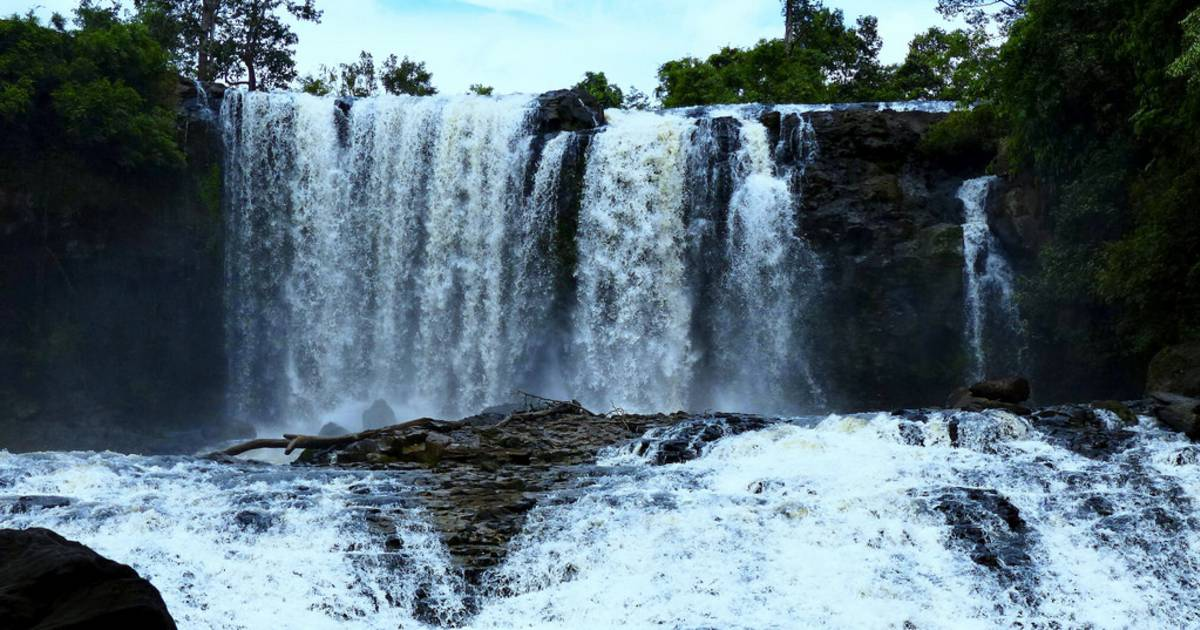 Gorgeous Bousra Waterfalls in Cambodia - Best Time
