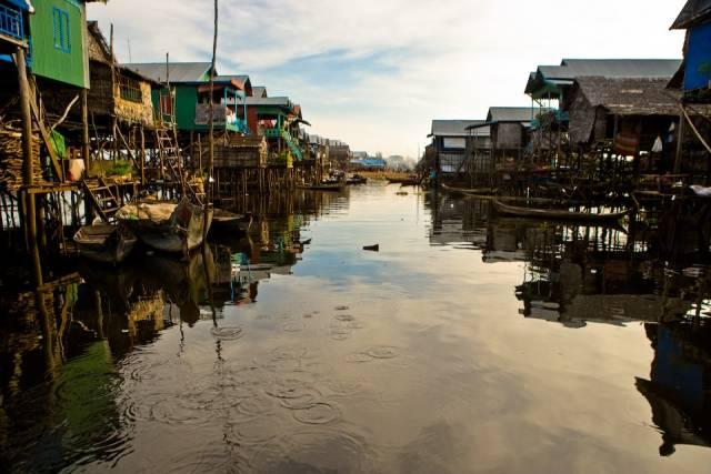 Best time for Kampong Phluk Floating Village