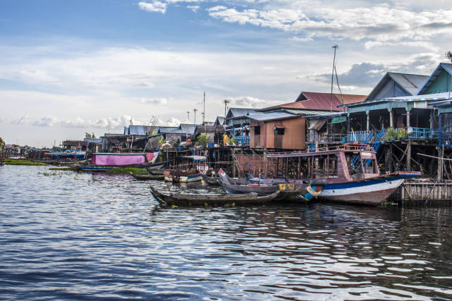 Kampong Phluk Floating Village in Cambodia - Best Time