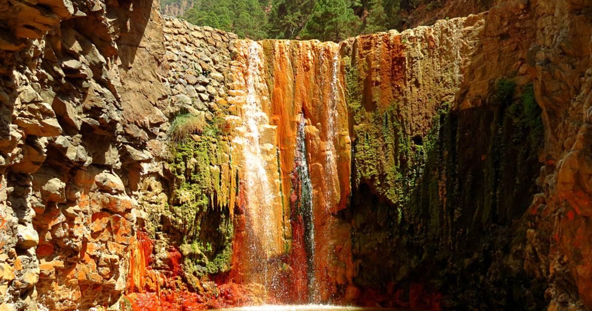 Cascade of Colours in Caldera de Taburiente in Canary Islands - Best Time