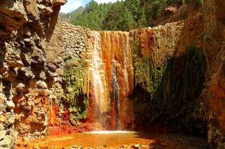 Cascade of Colours in Caldera de Taburiente