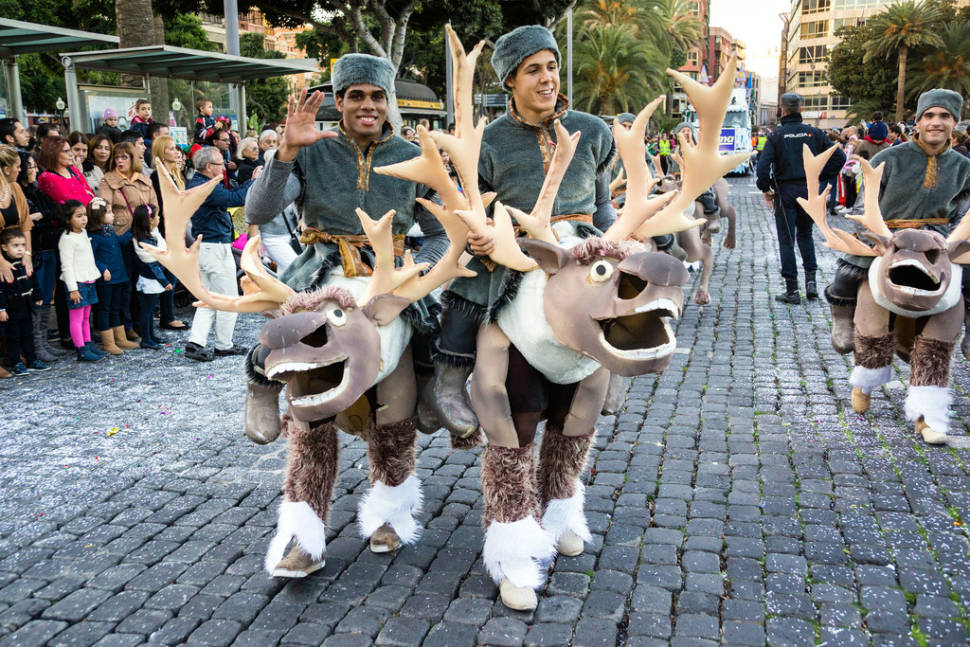 Best time for Epiphany or Three Kings' Day in Canary Islands
