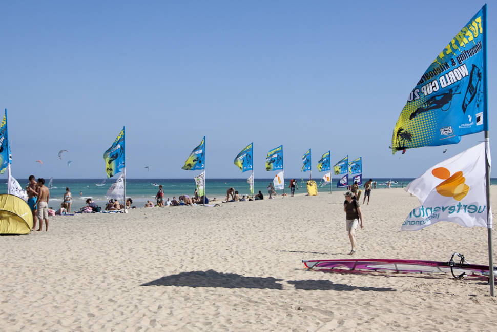 Best time for Fuerteventura Windsurfing & Kitesurfing World Cup in Canary Islands