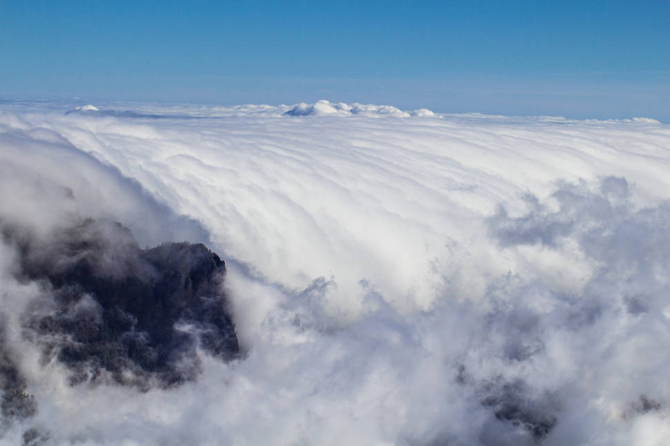 Best time for Sea of Clouds in Canary Islands