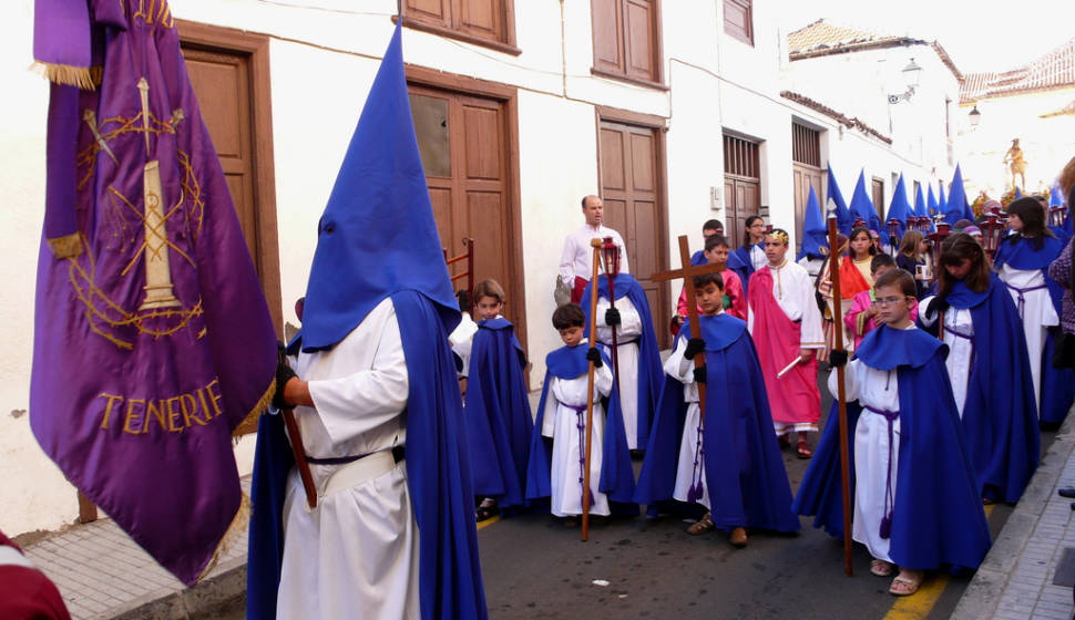 Best time for Semana Santa or Easter Holy Week in Canary Islands