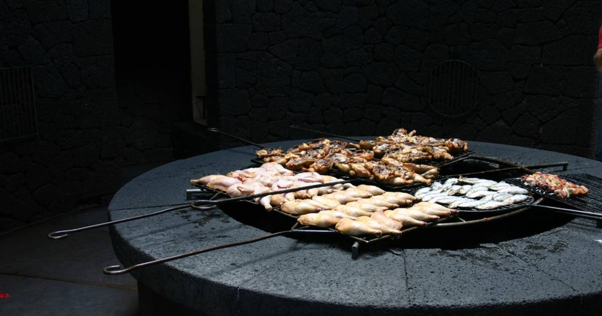 Volcano Grill on Lanzarote Island in Canary Islands - Best Time