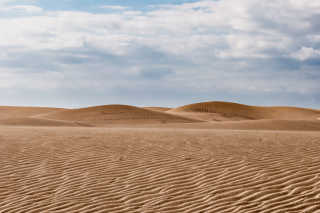 Walking the Maspalomas Dunes
