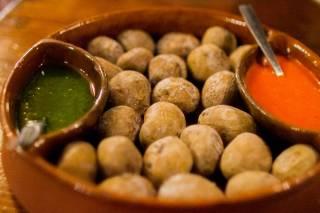 Wrinkled Potatoes or Papas Arrugadas
