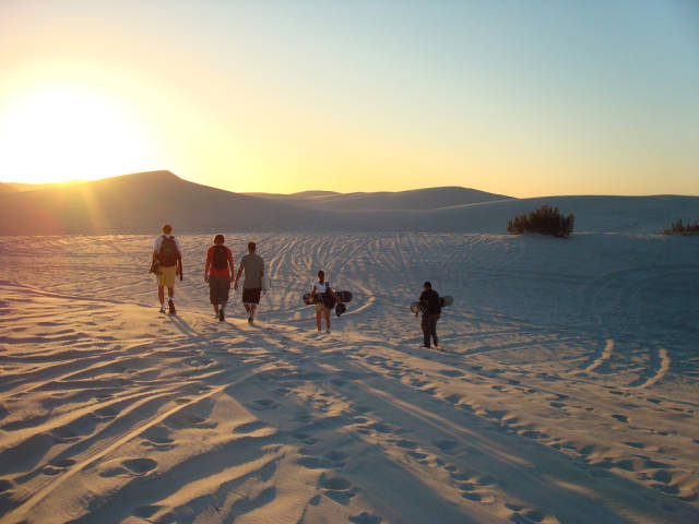 Sandboarding in Cape Town - Best Time
