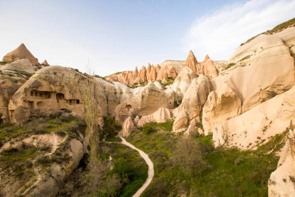 Best time to see Hiking and Trekking in Cappadocia