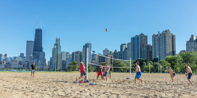 Best time for Beach Season in Chicago