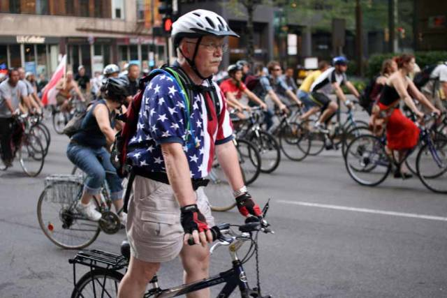 Best time for Critical Mass in Chicago