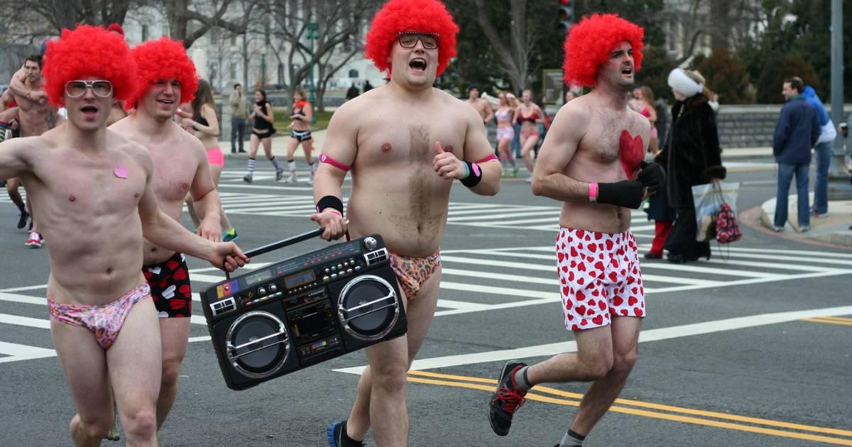 Cupid's Undie Run in Chicago - Best Time