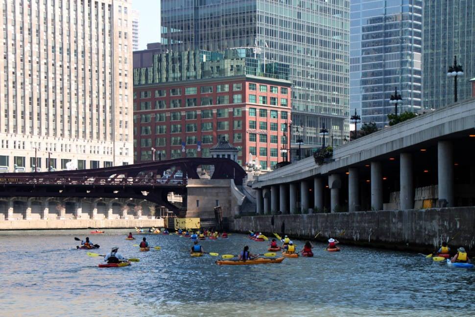 Kayaking Season in Chicago - Best Time