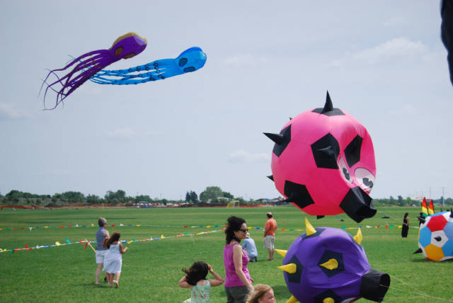 Kids and Kites Festival in Chicago - Best Time