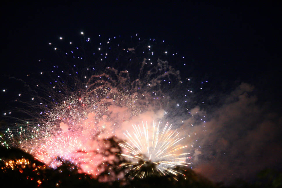 Summer Fireworks at Navy Pier  in Chicago - Best Time