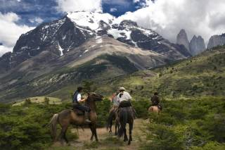 Horseback Riding in the Andes