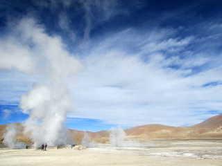 Hot Springs of the Atacama Desert