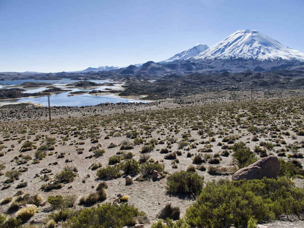 The Cotacotani Lagoons