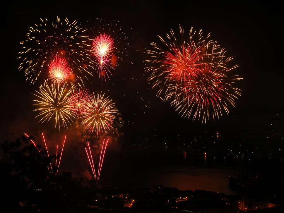 New Year Fireworks in Valparaiso in Chile - Best Season