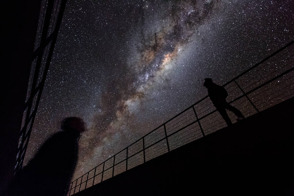 Under the Milky Way in the Chilean Atacama Desert