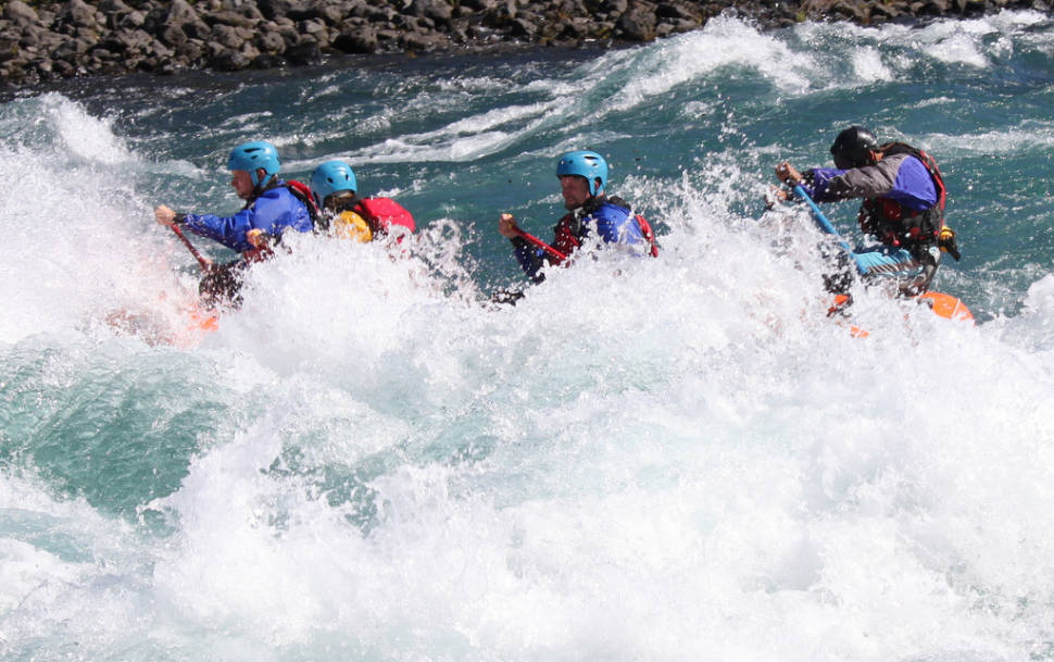 Best time for White Water Rafting in Chile