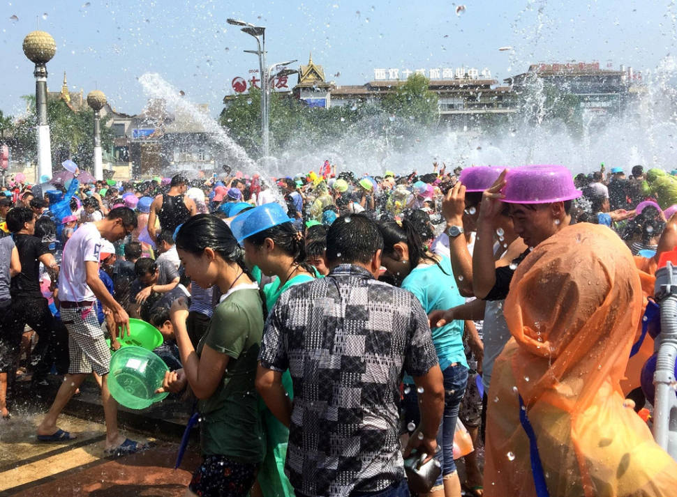 Best time for Dai Water Splashing Festival