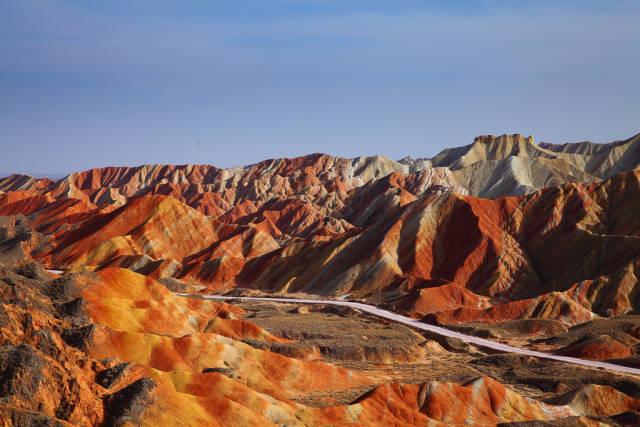 Rainbow Mountains in China - Best Season