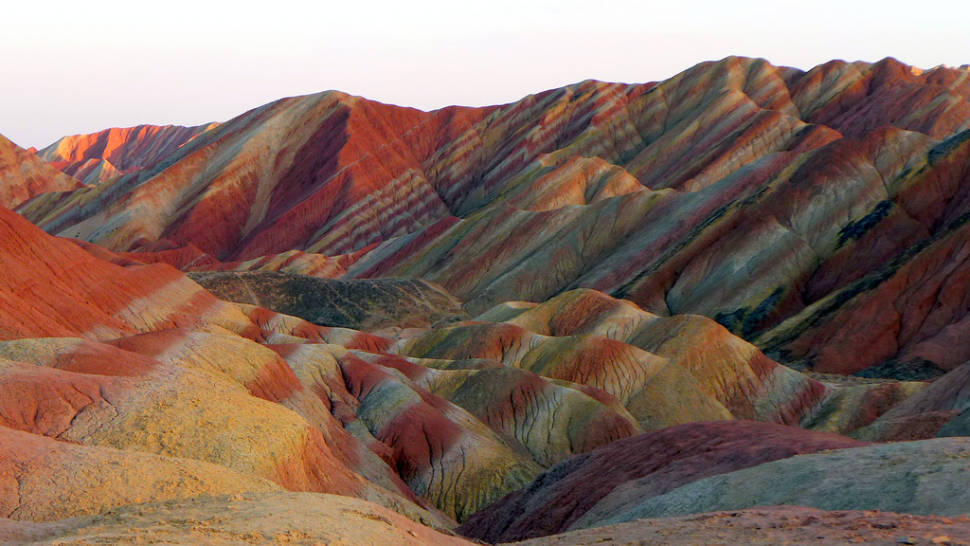 Rainbow Mountains in China - Best Time