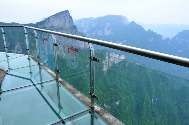 Glass Plank Road at Tianmen Mountain in China - Best Season