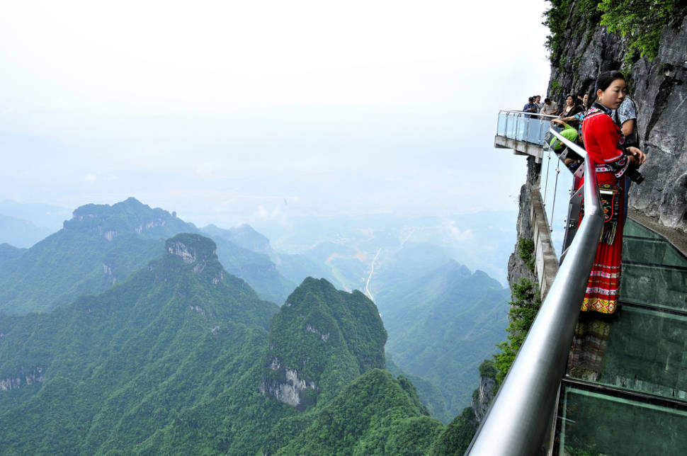 Glass Plank Road at Tianmen Mountain in China - Best Time