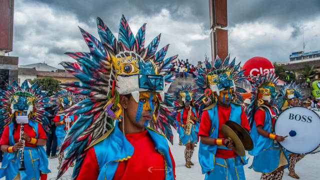 Carnival of Blacks & Whites in Colombia - Best Season