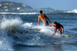 Surfing on the Caribbean Coast