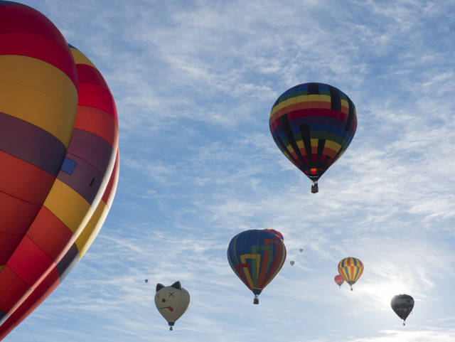 Best time for Colorado Springs Labor Day Lift Off in Colorado