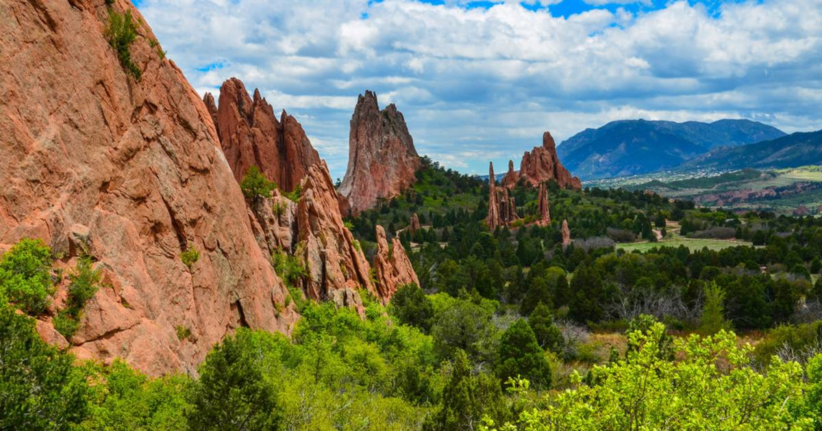 Best time to see garden of the gods in colorado 2019 for Quality inn garden of the gods