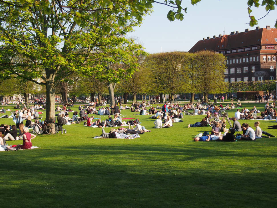 Picnic in the Kongens Have in Copenhagen - Best Time